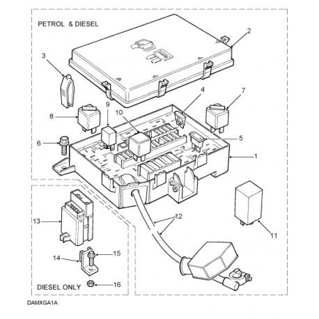 Kaitsmeplokk mootori ruumi