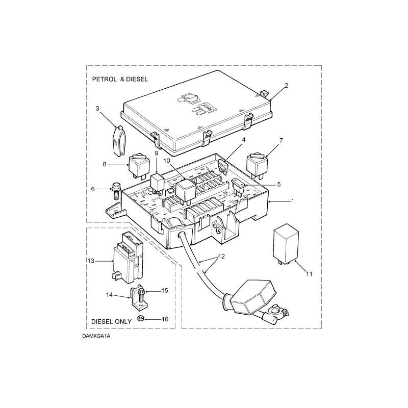 Rover 400 Fuse Box